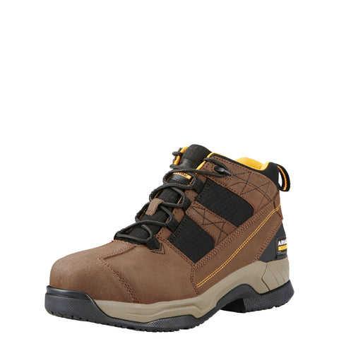 Ariat Men's Contender Steel Toe Boot - Brown