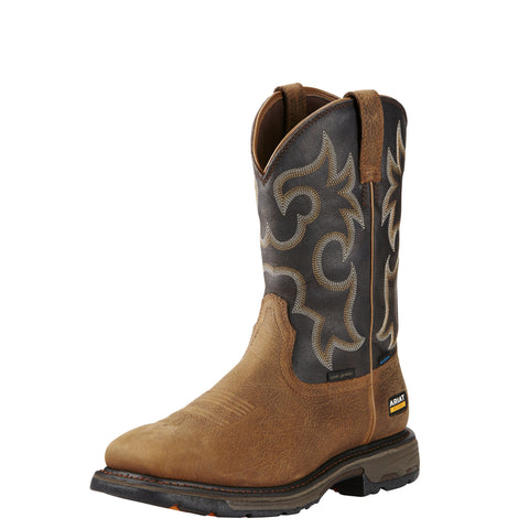 Ariat Men's WorkHog® Wide Square Toe H2O 400G Boot - Brown