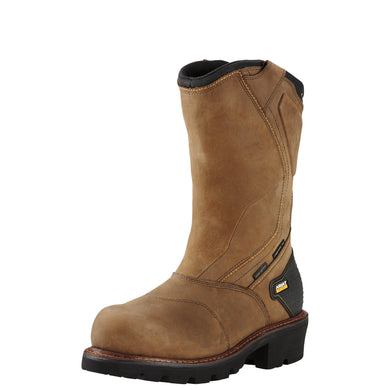 Ariat Men's Powerline H2O 400G Comp Toe Boot - Brown