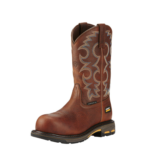 Ariat Women's WorkHog® Comp Toe Boot - Brown