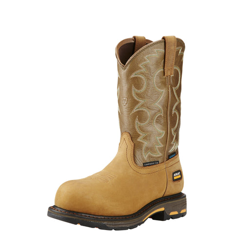 Ariat Women's WorkHog® H2O Comp Toe Boot - Brown