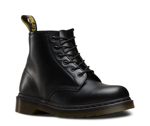 Dr. Martens Men's 101 Smooth 6 Eyelet Boot Z Welt Dms Sole