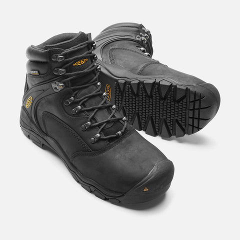 "Keen Utility Men's Louisville 6"" Boot - Black"
