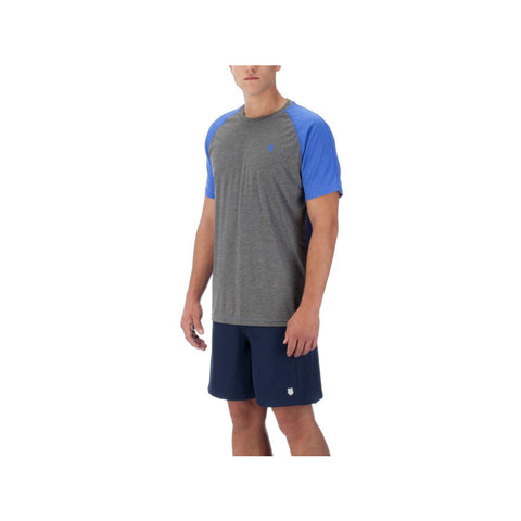 K-swiss Men's Backcourt Crew Shirt