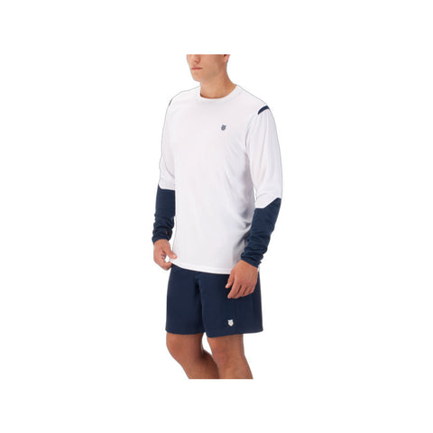 K-swiss Men's Long Sleeve Crew Shirt