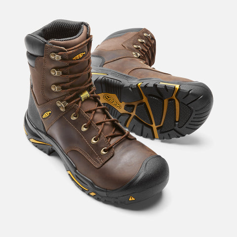 "Keen Utility Men's Mt Vernon 8"" Boot - Cascade Brown"