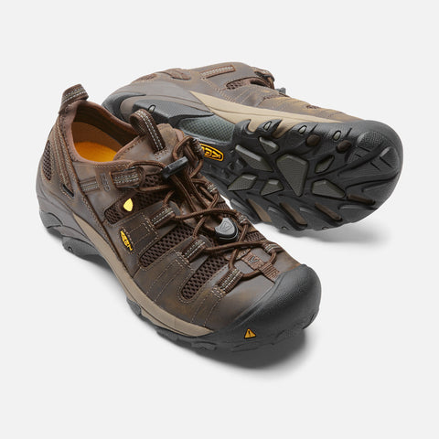 Keen Utility Men's Atlanta Cool ESD Soft Toe Shoe - Cascade Brow