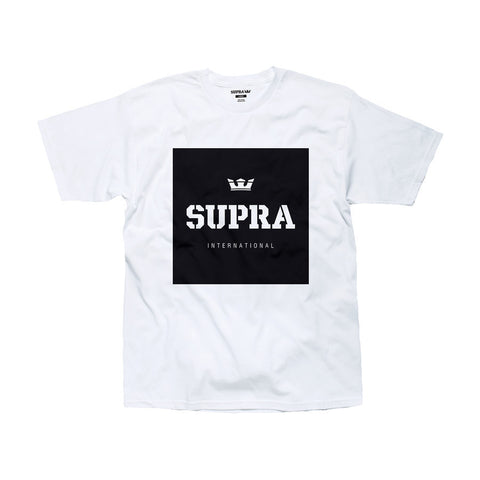Supra Men's International T-Shirt White