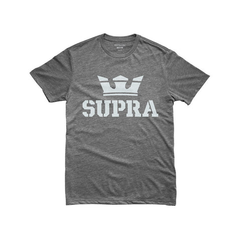 Supra Men's Above T-Shirt Grey Heather