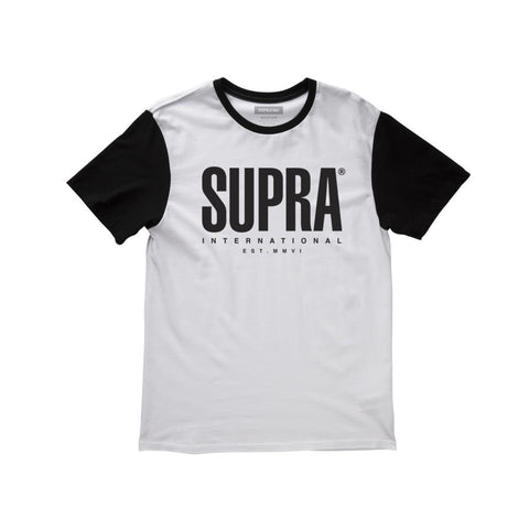 Supra Men's Registered Clrblcs/S White/Black
