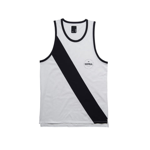 Supra Men's Port Tank Top White / Navy