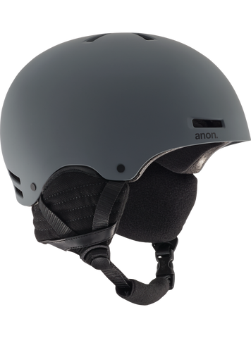 Anon Men's Raider Helmet Dark Gray