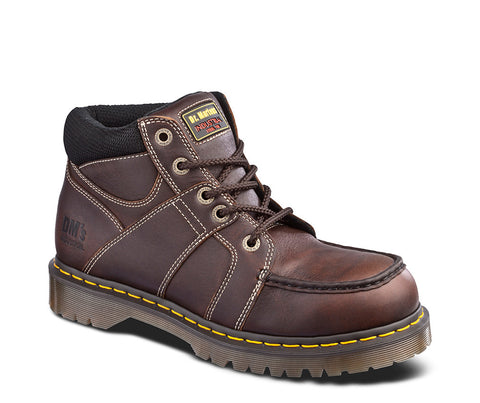Dr. Martens Men's Darby Steel Toe