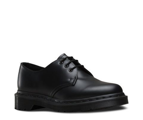 Dr. Martens Men's 1461 Mono 3-Eye Shoe
