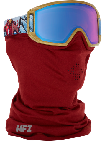 Anon Kid's Marvel Relapse Jr. Goggle Ironman/Blue Amber