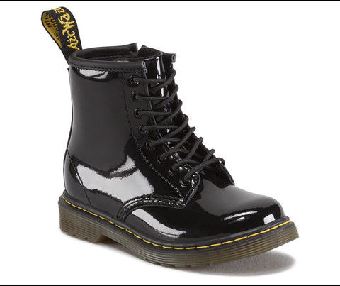 Dr. Martens Infants Brooklee Patent Infants Lace Boot