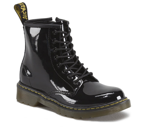 Dr. Martens Junior Delaney Patent Lace Boot