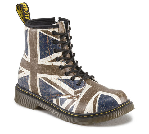 Dr. Martens Boy's Delaney Juniors Lace Boot Classic