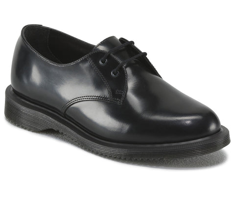Dr. Martens Women's Brook POLISHED SMOOTH 2 Eye Shoe