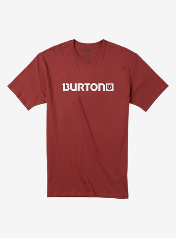 Burton Men's Logo Horizontal Short Sleeve T Shirt