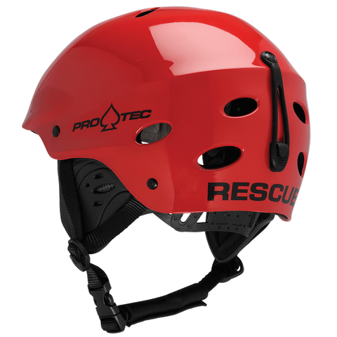 Pro-Tec Ace Water Rescue Helmet, Gloss Red