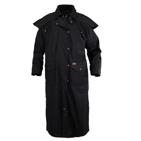 Outback Trading Co. Stockman Duster, Black