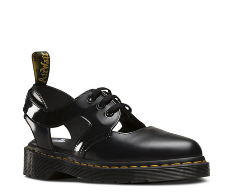 Dr. Martens Women's Genna Pointed Cut Out Shoe Black