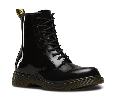 Dr. Martens Youth Delaney Patent Lace Boot