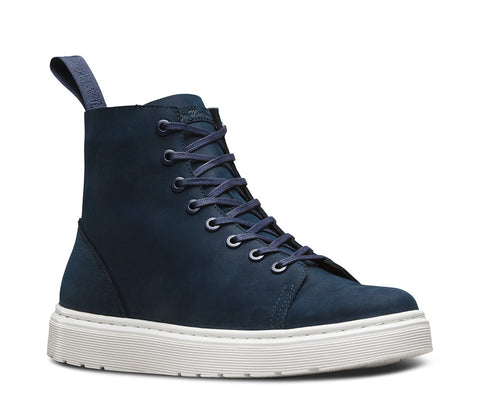 Dr. Martens Men's Talib 8 Eye Boot Indigo