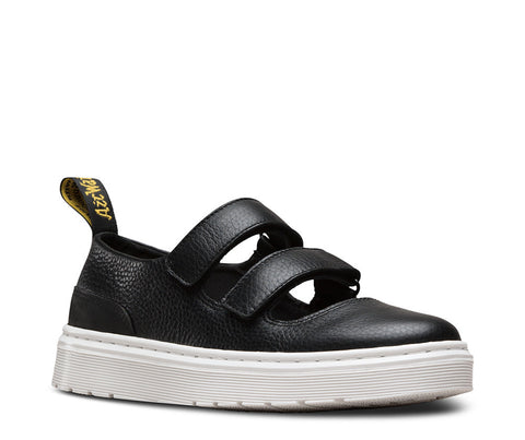 Dr. Martens Women's Mae Double Strap Mary Jane Black