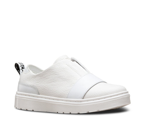 Dr. Martens Women's Lylah Slip On White