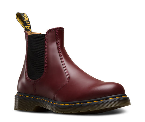 Dr. Martens Unisex 2976 Chelsea Boot Cherry Red