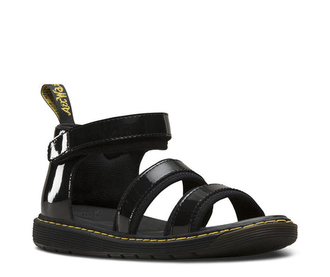 Dr. Martens Youth Kids Marabel Chunky Strap Sandal Black