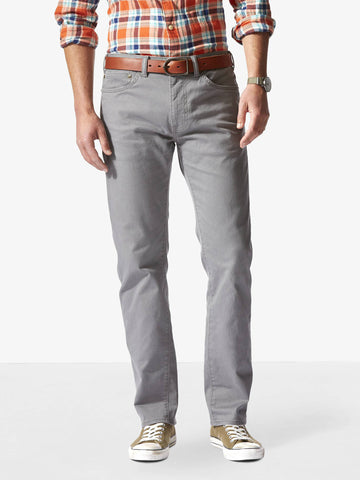Dockers Men's B&T Standard Jean Cut Pant Burma Grey