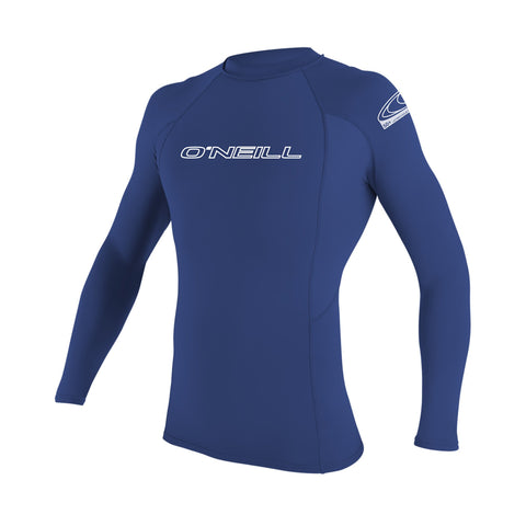 O'Neill Basic Skins Long Sleeve Crew Shirt Pacific