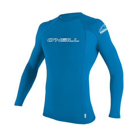 O'Neill Basic Skins Long Sleeve Crew Shirt Brite Blue