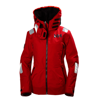 Helly Hansen Women's Aegir Race Jacket Alert Red