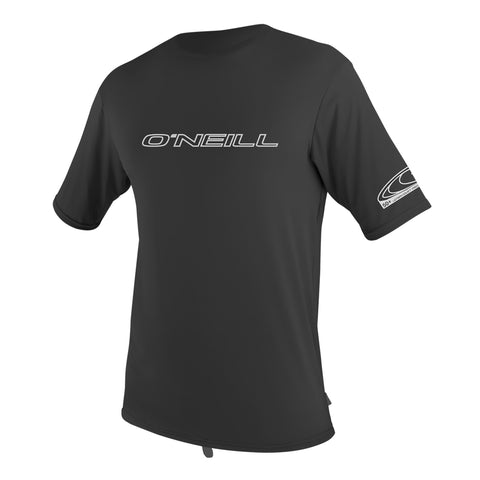 O'Neill Basic Skins Short Sleeve Rash Tee Black