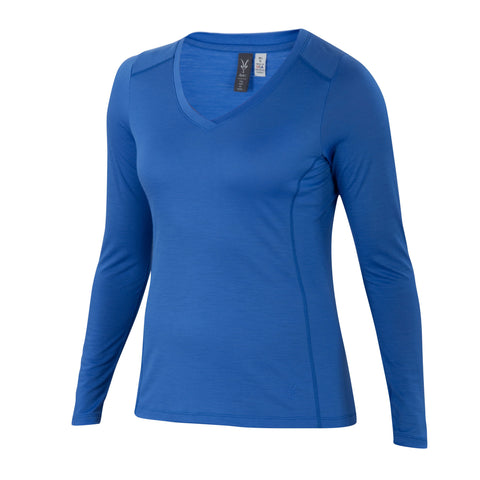 Ibex Women's All Day Long Sleeve Lazuli