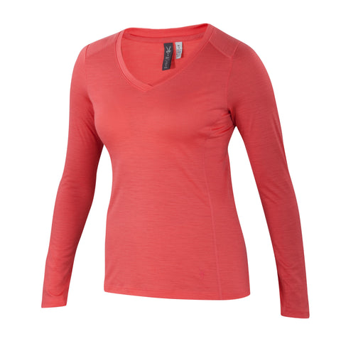 Ibex Women's All Day Long Sleeve Watermelon