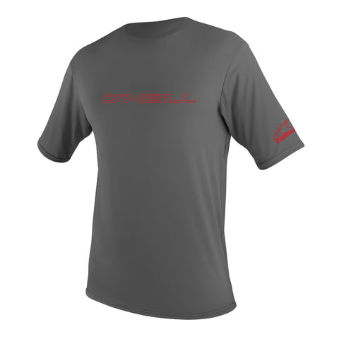 O'Neill Basic Rash Tee Graphite