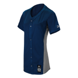 Mizuno Women's Pro Full Button Game Jersey