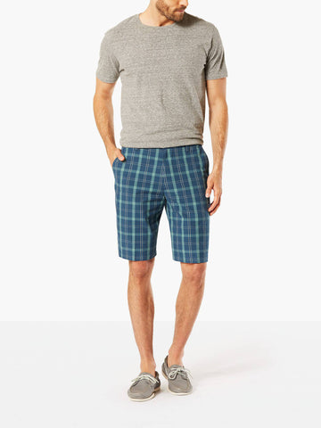 Dockers Men's The Perfect Classic Flat Front Short Cox B Good Moonlit