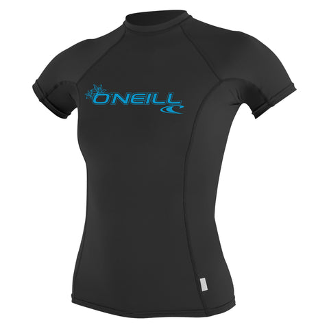 O'Neill Basic Skins Short Sleeve Crew Shirt Black