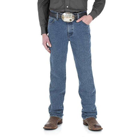 Wrangler Premium Performance Advanced Comfort Cowboy Cut® Slim Fit Jean - MT Wash