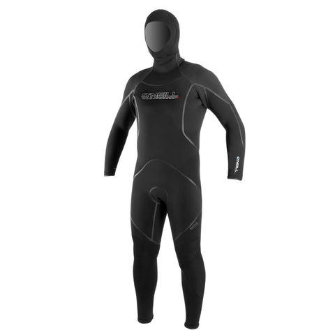 O'Neill J-Type 7MM FSW with Hood Full Wetsuit Black/Black