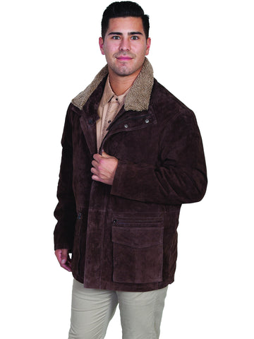 Scully 408 Men's Frontier Leather Coat