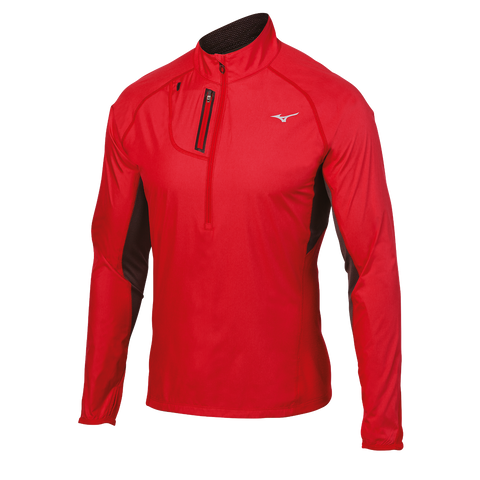 Mizuno Run Men's Breath Thermo Windtop Half-Zip