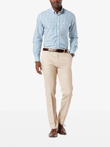 Dockers Men's Signature Stretch Slim-Tapered Pant Cloud