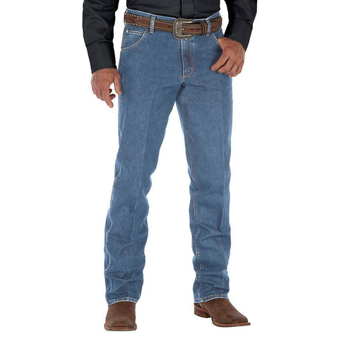 Wrangler Premium Performance Cool Vantage™ Cowboy Cut® Regular Fit Jean - LS Wash